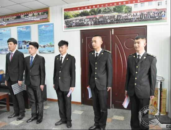 新疆木垒县公安局在我校召开
